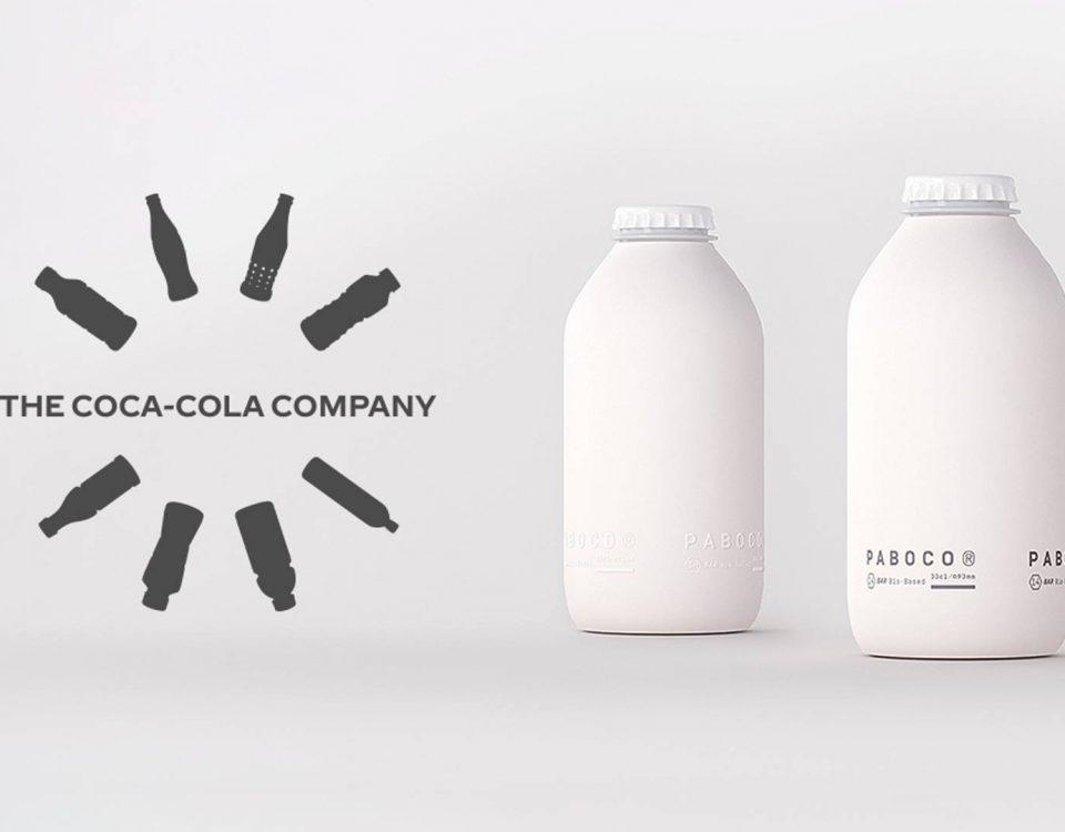 بطری های کاعذی کوکا کولا