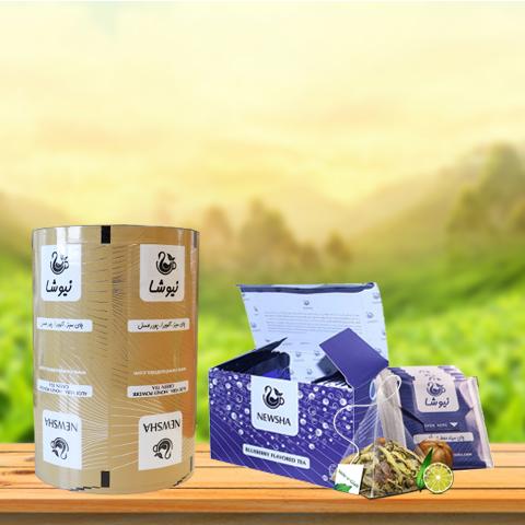 بسته بندی چای کیسه ای