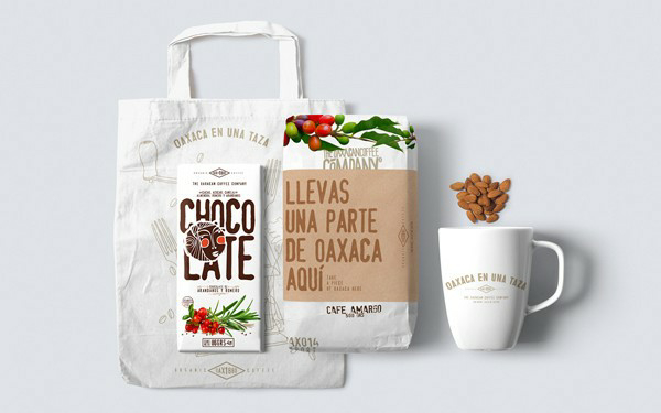 نمونه طراحی بسته بندی قهوه