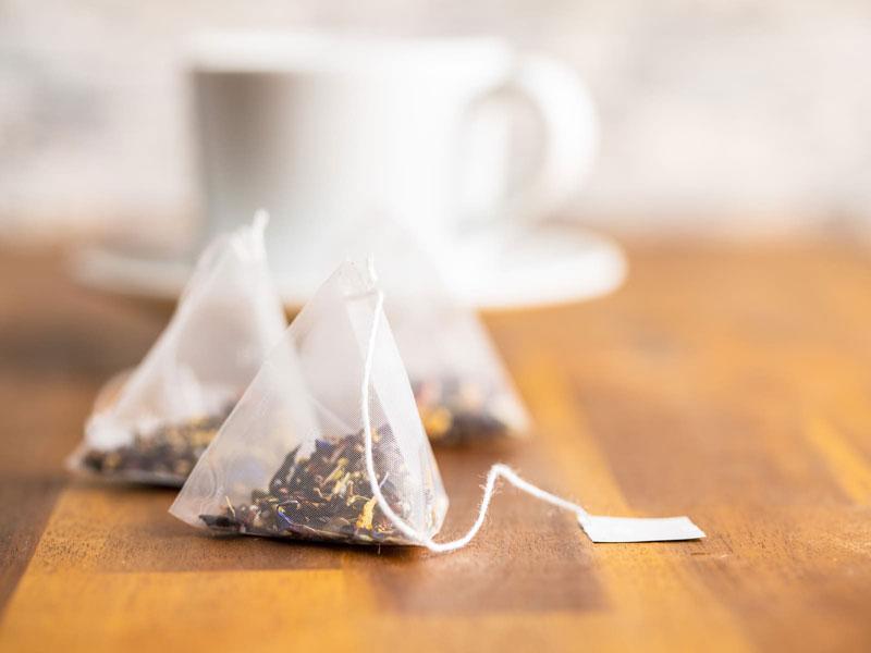 بسته بندی به سبک چای کیسه ای هرمی